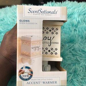 New Scentsationals Scented Wax Warmer